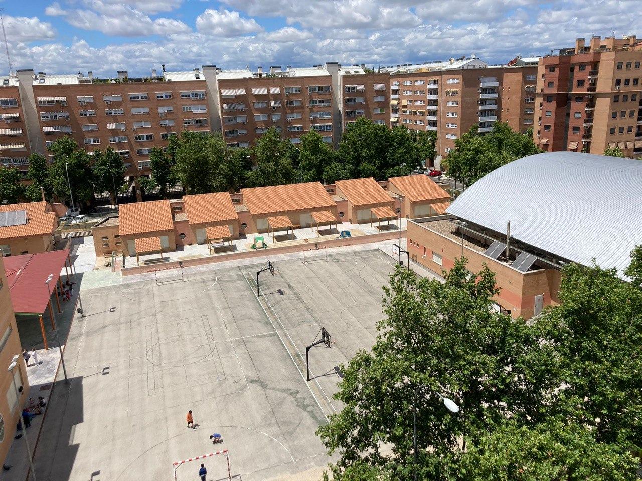 Vista aérea - A.M.P.A. Clara Campoamor (Alcorcon)