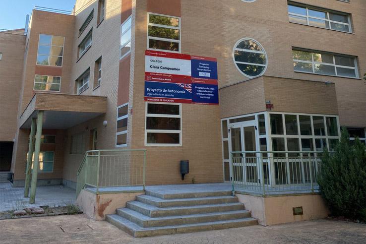 Edificio principal - A.M.P.A. CEIP Clara Campoamor